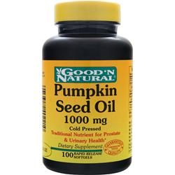 GOOD 'N NATURAL Pumpkin Seed Oil (1000mg) 100 sgels