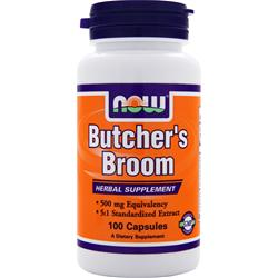 NOW Butcher's Broom 100 caps