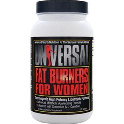 UNIVERSAL NUTRITION Fat Burners for Women 120 tabs