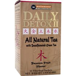 Wellements Daily Detox II Tea Passion FruitFlavo 30 pck