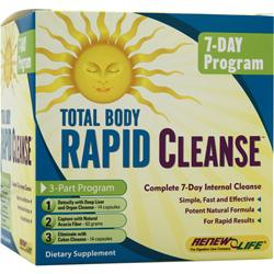Renew Life Total Body Rapid Cleanse 1 kit