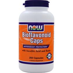 NOW Bioflavonoids Caps w/ Ascorbic Acid and Rutin 250 caps