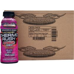 MET-RX Extreme Thermo Rush RTD Grape Gush 12 bttls