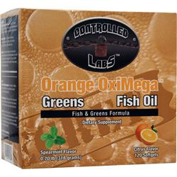 CONTROLLED LABS Orange OxiMega Greens Fish Oil 1 kit