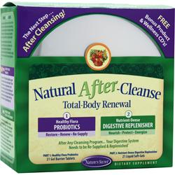NATURE'S SECRET Natural After-Cleanse - Total Body Renewal 1 kit