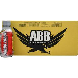 AMERICAN BODYBUILDING Carbo Force RTD Fruit Punch 24 bttls
