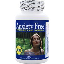 RIDGECREST HERBALS Anxiety Free Stress Release Formula 60 vcaps