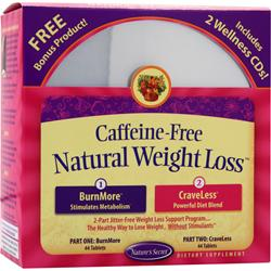 NATURE'S SECRET Caffeine-Free Natural Weight Loss 1 kit