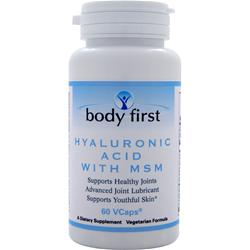 BODY FIRST Hyaluronic Acid with MSM 60 vcaps