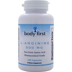 BODY FIRST L-Arginine (500mg) 100 caps