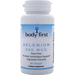 BODY FIRST Selenium (200mcg) 90 vcaps