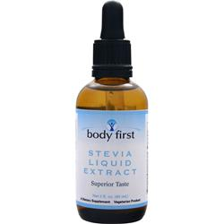 BODY FIRST Stevia Liquid Extract 2 fl.oz