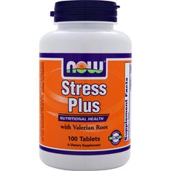 NOW Stress Plus 100 tabs