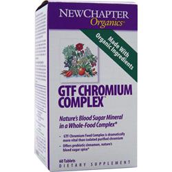 New Chapter GTF Chromium Complex 60 tabs