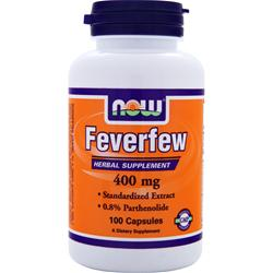 NOW Feverfew (400mg) 100 caps