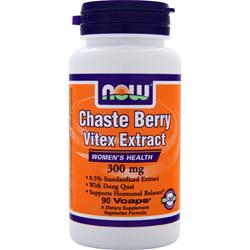 NOW Chaste Berry Vitex Extract (300mg) 90 vcaps