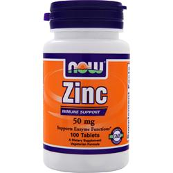 NOW Zinc Gluconate (50mg) 250 tabs