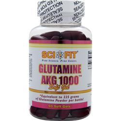 SCI-FIT Glutamine AKG 1000 90 sgels