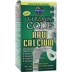 GARDEN OF LIFE Vitamin Code - Raw Calcium 150 vcaps