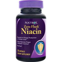 Natrol Niacin - Zero Flush 50 caps
