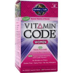 Garden Of Life Vitamin Code - Womens Formula 240 vcaps