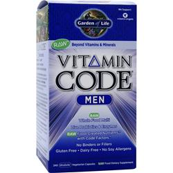 GARDEN OF LIFE Vitamin Code - Men 240 vcaps