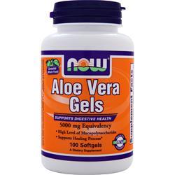NOW Aloe Vera Gels 100 sgels