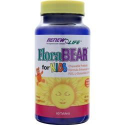 Renew Life FLoraBEAR for Kids 60 tabs
