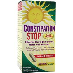 Renew Life Constipation Stop 60 vcaps