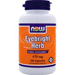 NOW Eyebright Herb (470mg) 100 caps
