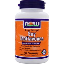 NOW Soy Isoflavones - Extra Strength 120 caps