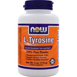 NOW L-Tyrosine Powder 4 oz
