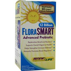 RENEW LIFE FloraSMART - 12 Billion 30 vcaps