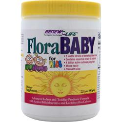 RENEW LIFE FloraBABY for Kids 2.1 oz