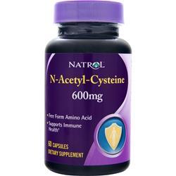 NATROL N-Acetyl-Cysteine 60 caps