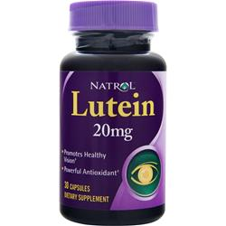 NATROL Lutein (20mg) 30 caps