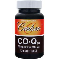 CARLSON Co-Q10 (50mg) 120 sgels