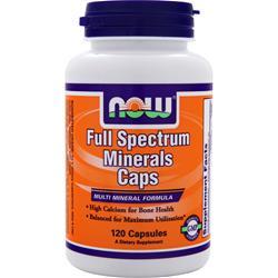 Now Full Spectrum Minerals 120 caps