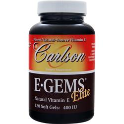 Carlson E-Gems Elite (400IU) 120 sgels