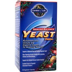 Garden Of Life Immune Balance Yeast Freeze 60 vcaps
