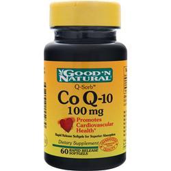 Good 'N Natural Co Q-10 (100mg) 60 sgels