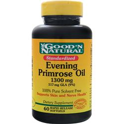Good 'N Natural Evening Primrose Oil (1300mg) 60 sgels