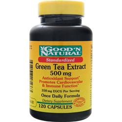 GOOD 'N NATURAL Green Tea Extract (500mg) 120 caps
