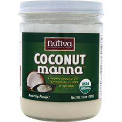 NUTIVA Coconut Manna 15 oz