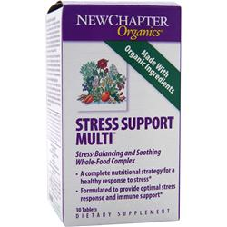 New Chapter Stress Support Multi = 30 tabs