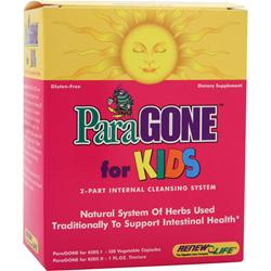 Renew Life ParaGONE for Kids 1 kit