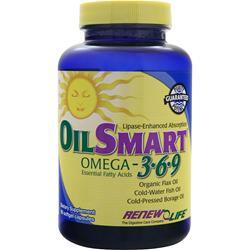 Renew Life Oil Smart Omega 3-6-9 Formula 90 sgels
