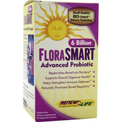 RENEW LIFE FloraSMART - 6 Billion 90 vcaps