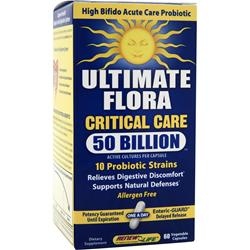 RENEW LIFE Ultimate Flora - Critical Care 50 Billion 60 vcaps