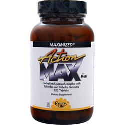Country Life Action Max for Men 120 tabs